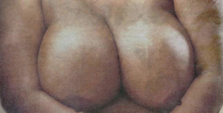 Pregnant nude study