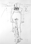 Radfahrerin II