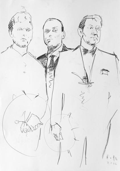 Studie zu Heinz Mack, Günther Uecker, Otto Piene