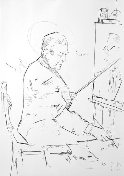 Studie zu René Magritte