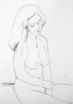 Frau, unbekleidet V