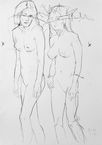 Zwei Mädchen II
