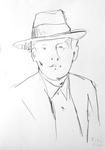 Mann mit Hut II