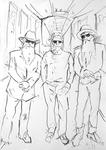Studie zu Dusty Hill, Frank Beard, Billy Gibbons II