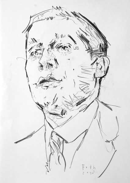 Studie zu Oskar Kokoschka III