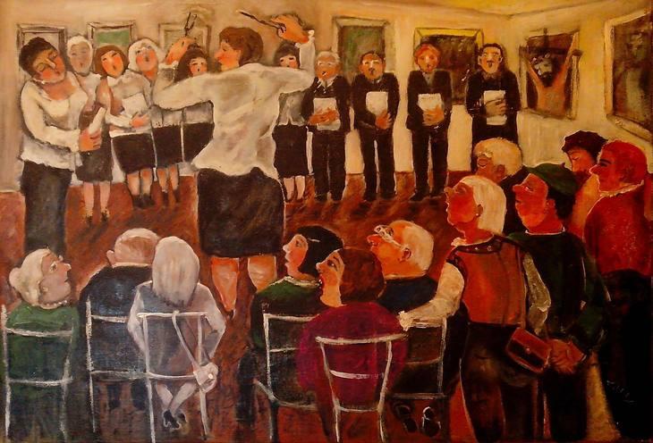 """""""Heiliger """"Gesang zum Tag der Kultur"""