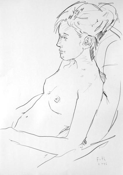 Die Tochter des Bildhauers Rydzewski