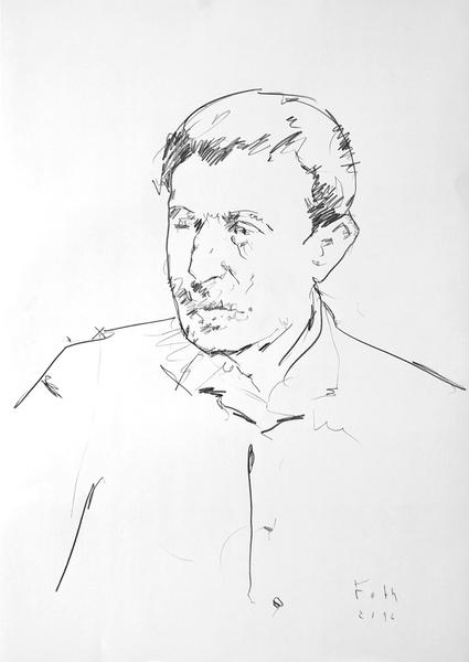 Studie zu Paul Gauguin II