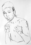 Muhammad Ali noch als Cassius Marcellus Clay Jr.