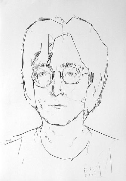 Studie zu John Lennon II