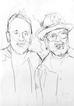Studie zu Les Paul und Bo Diddley