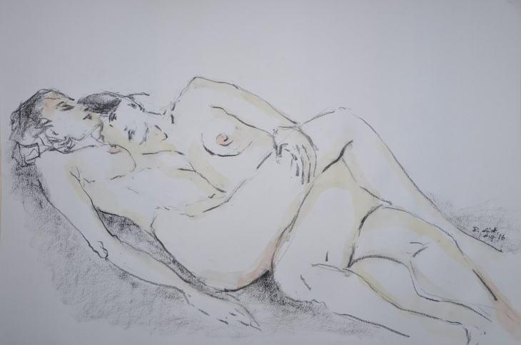 à la Courbet