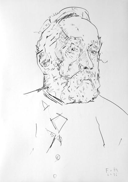 Studie zu Edgar Degas