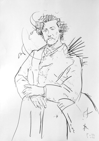 Studie zu James McNeill Whistler