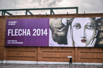 Flecha Art Fair outdoor ad