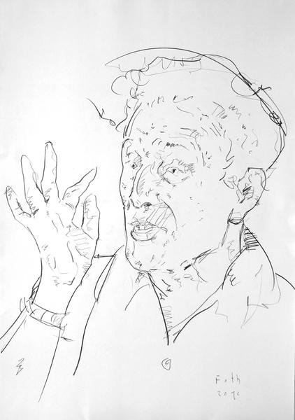Studie zu Marc Chagall III