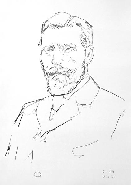 Studie zu Fritz Overbeck II