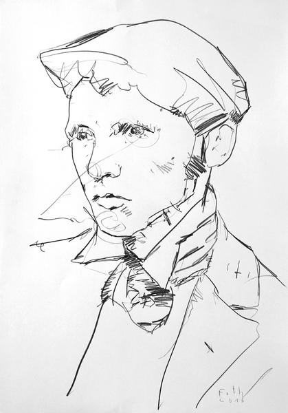 Studie zu Heinrich Vogeler