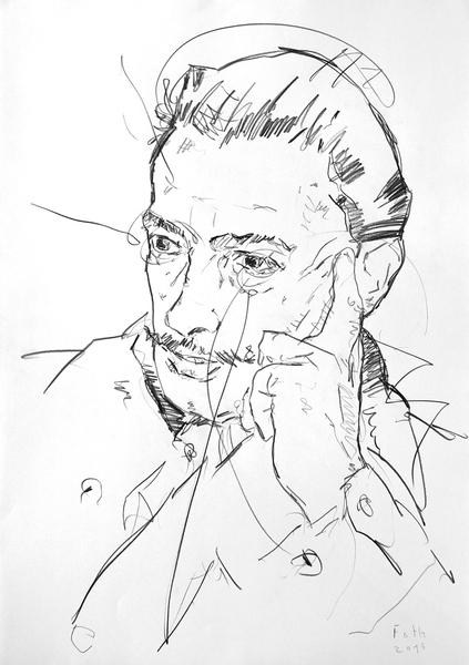 Studie zu Salvador Dalí III