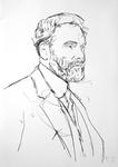 Studie zu Gustav Klimt