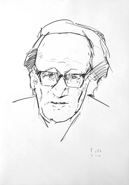 Egon Bahr als Heiner Müller