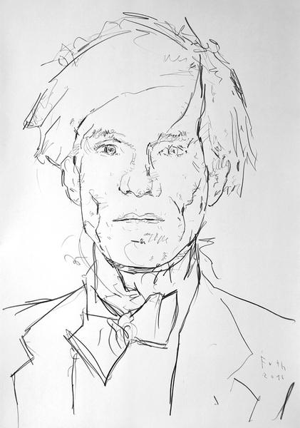 Studie zu Andy Warhol