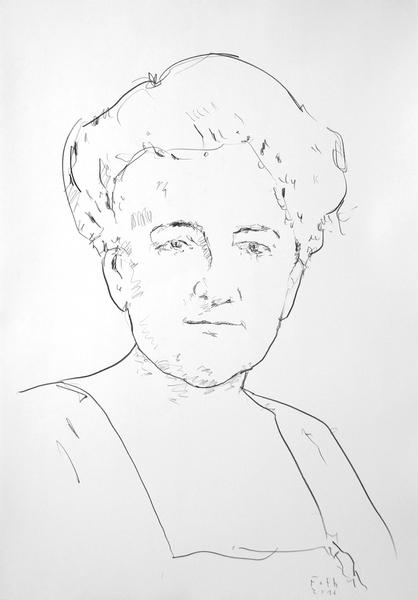 Studie zu Mary Cassatt