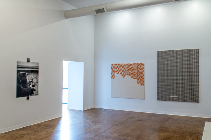 Exhibition view Time as desert at Mayeur projects