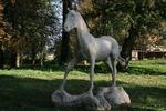 Bewegtes Pferd