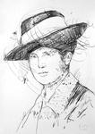 Anna Foth, die Großmutter des Künstlers