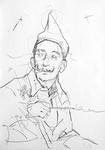 Studie zu Salvador Dalí VI