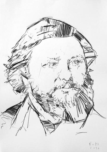 Studie zu Gustave Courbet II