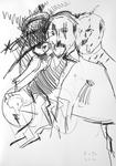 Gustave Flaubert als junger Mann