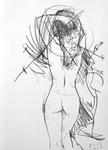 Kleine Nudistin, September III