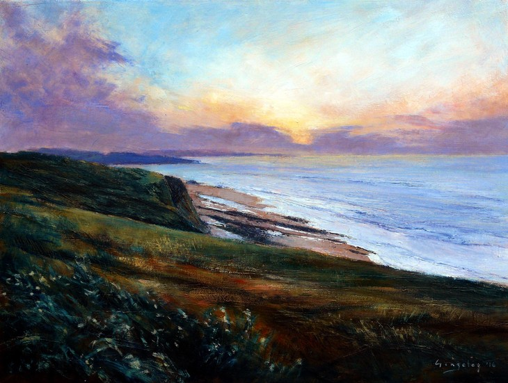 Coastline, evening_60x80_copy