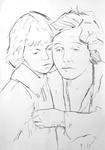 Georgie Stone und Norma Talmadge