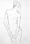 Junge Nudistin, Oktober