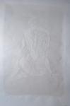 white series: woman sitting