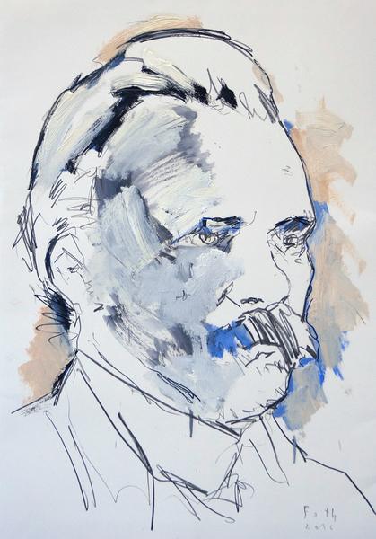 Studie zu Friedrich Nietzsche