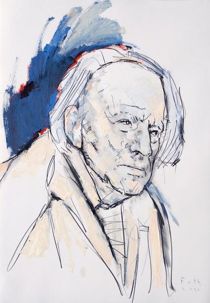 Studie zu Paul Delvaux I