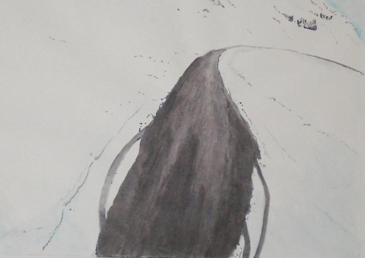 the-road-18--watercolour--30x40cm