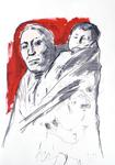 Mutter und Kind,  Hidatsa