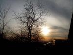 Sonnenuntergang in der Pusta