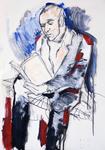 Lesender Mann III