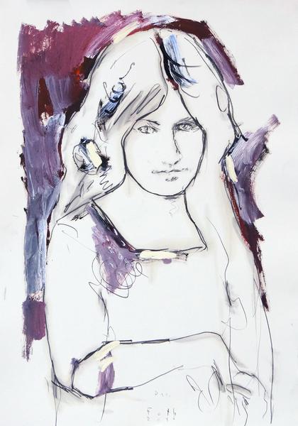 Studie zu Jeanne Hébuterne