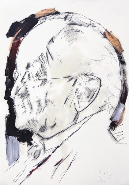 Studie zu Giovanni Boldini