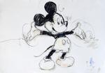 Micky Maus, euphorisch