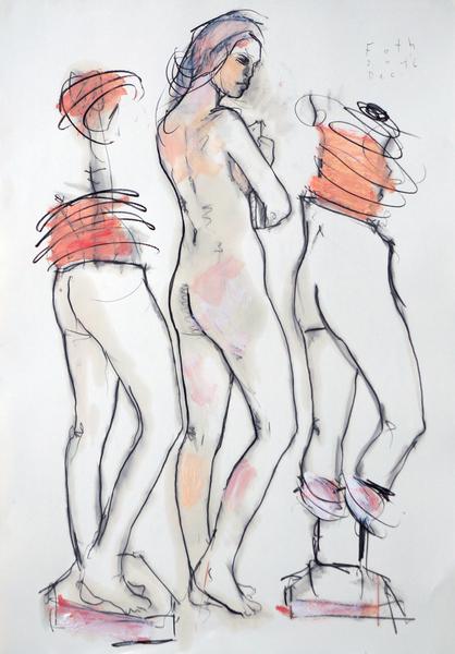 Die Bildhauerin, Dezember I