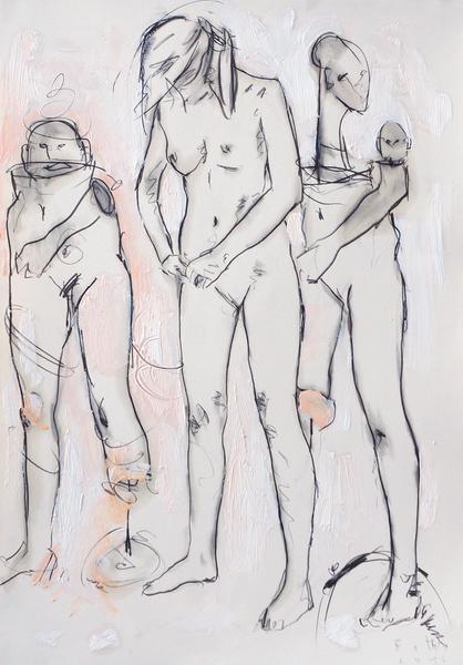 Die Bildhauerin, Dezember II