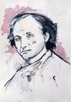 Charles Baudelaire; der Künstler als junger Mann